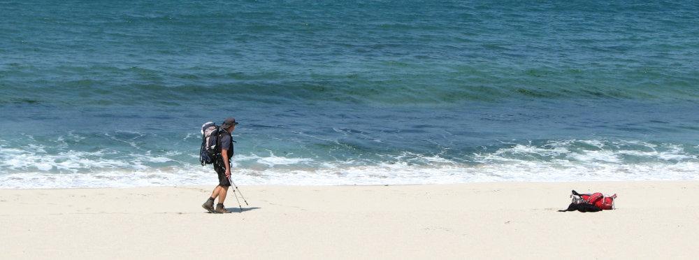 Beyond Fisterra Pilgrim and Sea