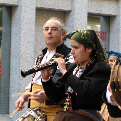 FiestasMusiciansStreet