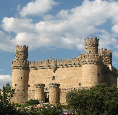 MadridNearbyCastle